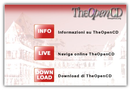 the open cd